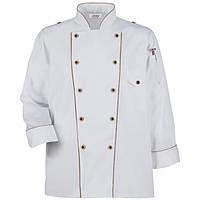 Куртка поварская Американский кулинар L, XL, цвет белый, черный