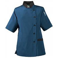 Куртка-туника Ж поворская, рукав 1/2, коттон цвет синий, черный, белый, размер XS-2XL