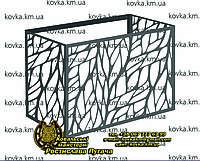 Корзина для кондиционера 5, Фасадный защитный экран для внешнего блока кондиционера