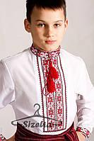 Детская Вышиванка Орест красный