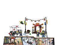 16001 Детский конструктор JVToy Ограбление киоска