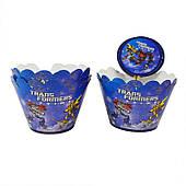 Топперы для кексов Трансформеры 310119-032