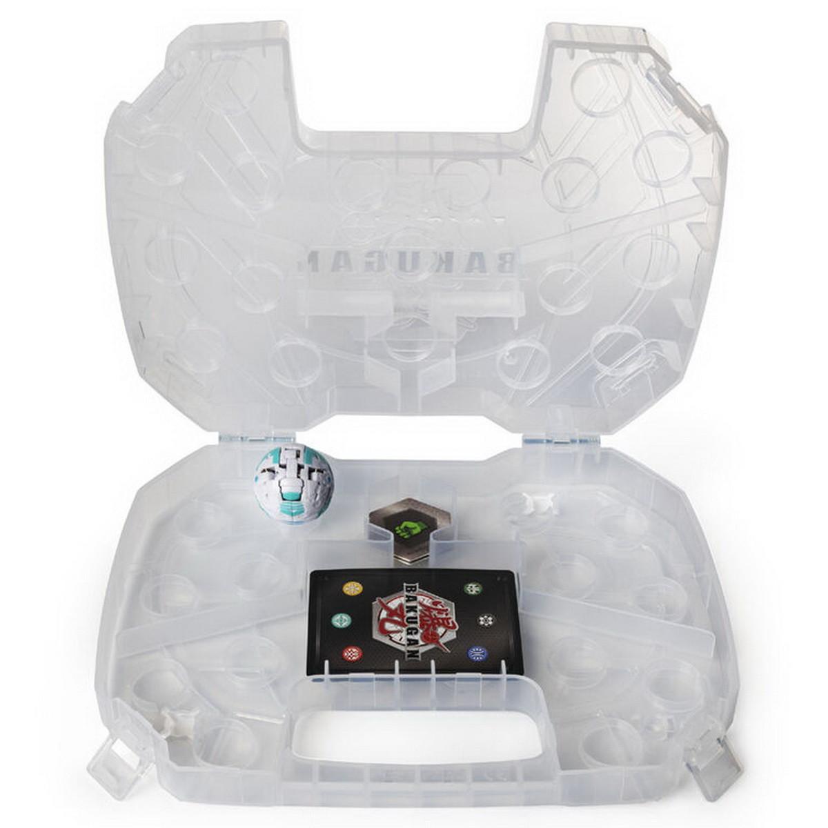 Bakugan Battle Planet Кейс для хранения бакуганов (прозрачный), SM64430-4