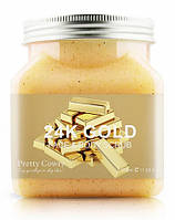 Скраб для лица и тела Pretty Cowry 24К Gold 350 мл PC8145