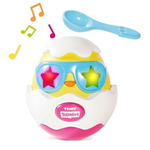 Tomy Детская музыкальная игрушка Разбей яйцо!, T72816C