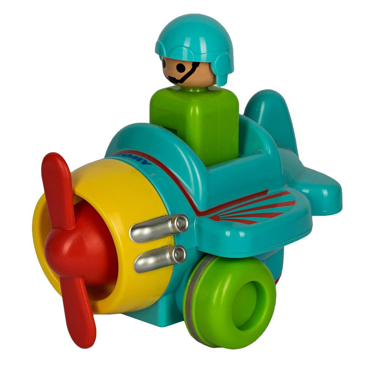 Tomy Інерційна іграшка Літачок, 1012-1