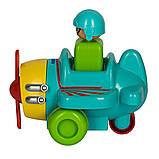 Tomy Інерційна іграшка Літачок, 1012-1, фото 4