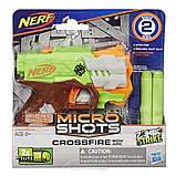 Nerf Игрушка бластер Микрошот, E1625, фото 2