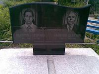 Памятник надгробный гранитный на двоих