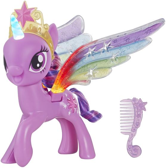 My Little Pony Игрушка Пони Искорка с радужными крыльями 20 см, E2928