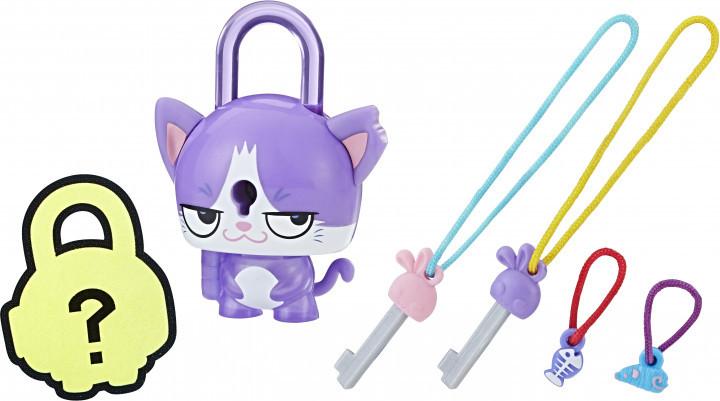 Lock Stars Игровая фигурка «Замочки с секретом» Фиолетовый кот, E3169