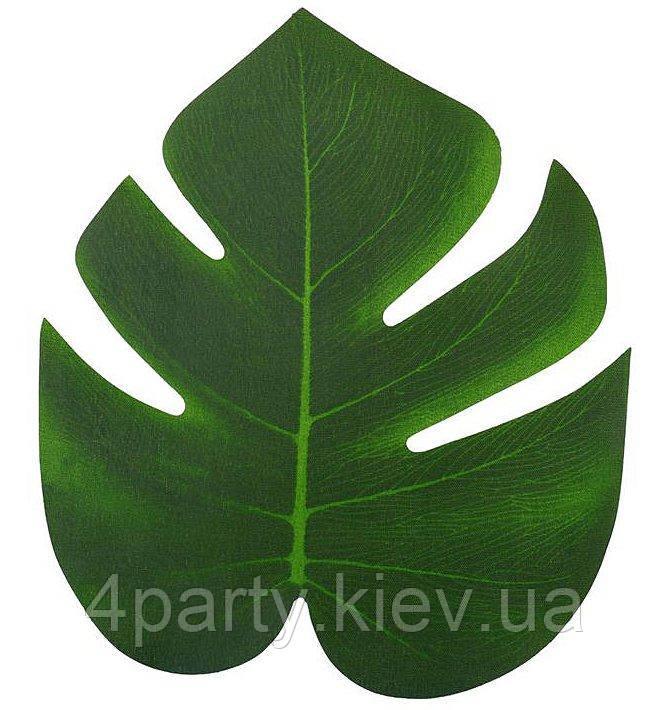 Тропический лист (монстеры) 20 см 170620-202