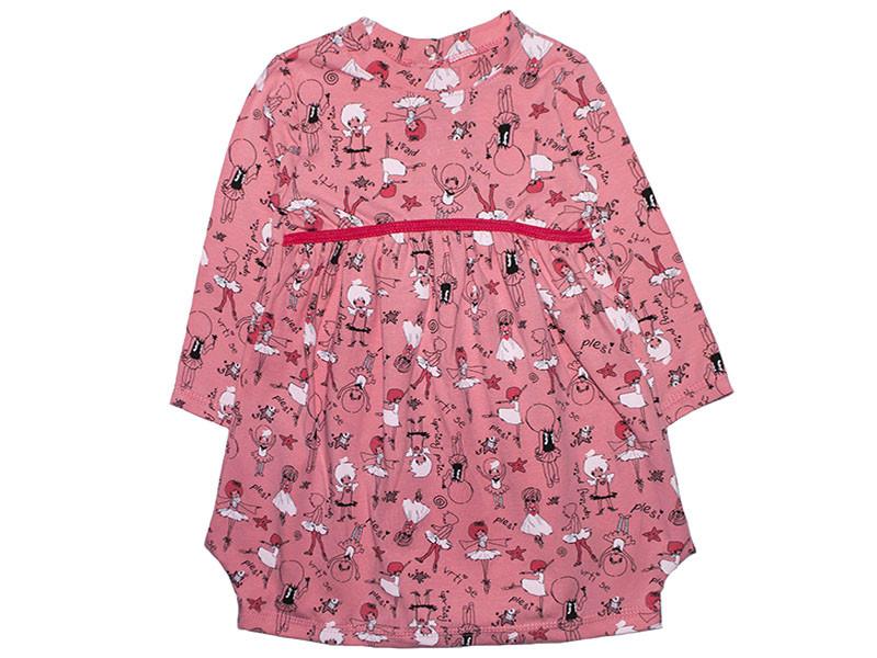 Платье для девочки с длинным рукавом