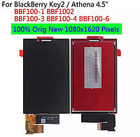 Дисплей с Тачскрином для Blackberry KEY2, Blackberry KEY2 DualSim, Original
