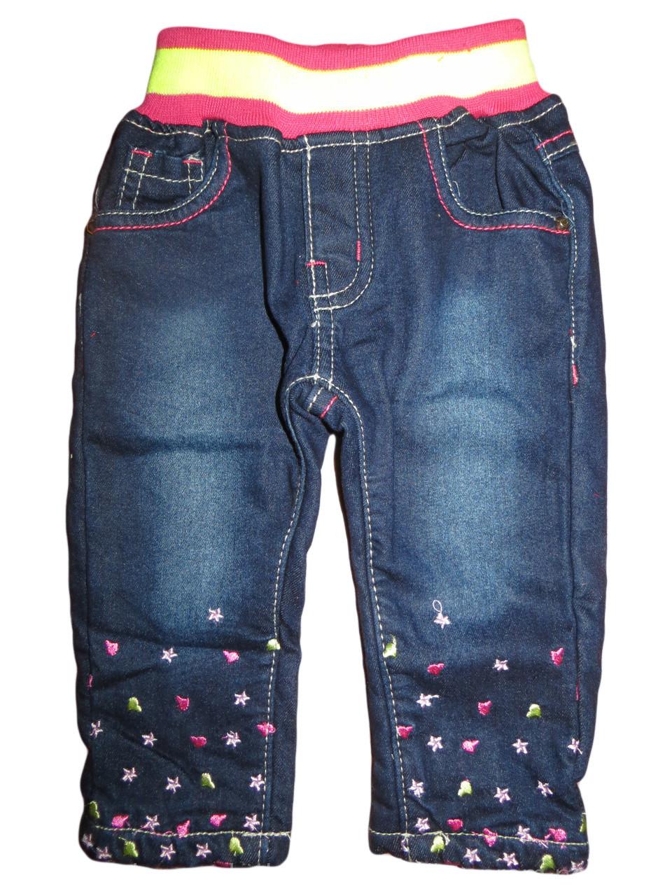 Утепленные джинсы для девочек, Sun Sea, размеры 86. арт.  1247