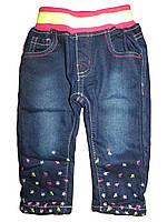 Утепленные джинсы для девочек, Sun Sea, размеры 86. арт.  1247, фото 1