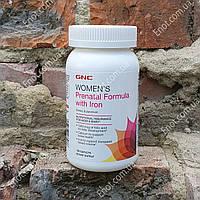 Витамины для беременных GNC Womens Prenatal Formula with Iron (с Железом) 120 таблеток