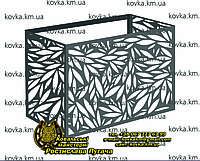 Корзина для кондиционера 9, Фасадный защитный экран для внешнего блока кондиционера