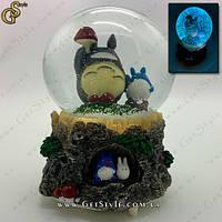 """Музыкальный снежный шар Тоторо - """"Totoro"""", фото 1"""