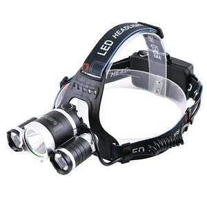Налобный фонарик RJ3000-T6