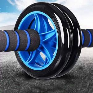 Фитнес колесо Double wheel Abs health abdomen round (WM-27)