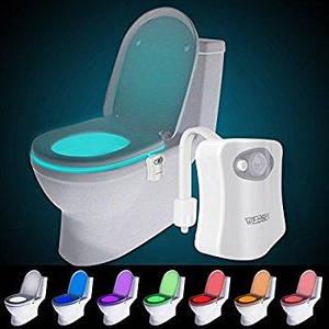 Підсвічування для унітазу led light bowl 8 кольорів з датчиком