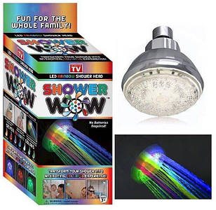 Насадка для душу з LED підсвічуванням UFT Shower Led