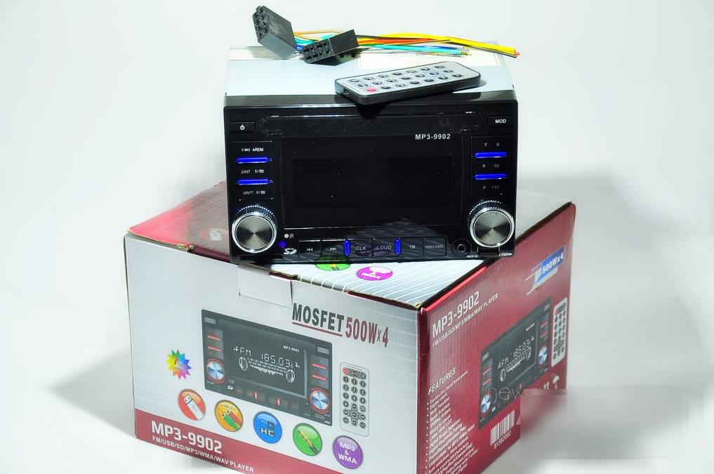 Автомагнитола MP3 9902 2DIN, Автомобильная магнитола