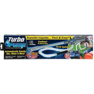 Автоматический бескабельный насос для перекачки жидкости Turbo Pump