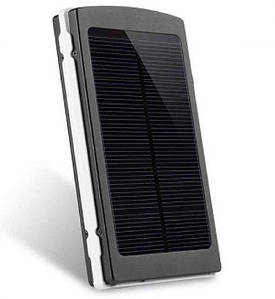 Power Bank 30000 mAh на сонячних батареях + Solar + Led панелі