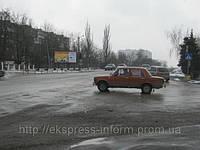 Бигборды Джанкой Симферопольское шоссе памятник Авиаторам направление на Симферополь