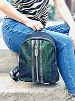 Рюкзак с паетками блестящий