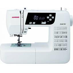 Обзор компьютеризированной швейной машины Janome 2160 dc