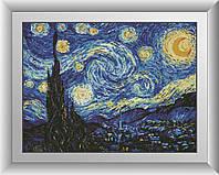 Звездная ночь. Ван Гог. Dream Art. Набор алмазной живописи 41x55 см
