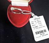 Серебрянное кольцо (помолвочное , с камнем), фото 5