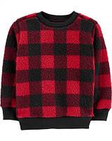 Пуловер в клітинку