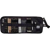 Художественный набор Koh-i-Noor на 31 предмет текстильный пенал 8891/6