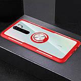 TPU+PC чехол Deen CrystalRing for Magnet (opp) для Xiaomi Redmi 9, фото 3