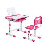 Эргономический комплект Cubby парта и стул-трансформеры Vanda Pink, фото 2