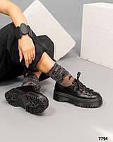 Женские Стильные туфли на платформе