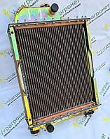 Радиатор охлаждения на мтз 80 Д-240 4-х рядный латунный