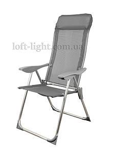 Кресло-шезлонг складное  GP20022010 GRAY