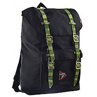 Стильный черный рюкзак в стиле Casual, классический, городской, для мужчин и девушек