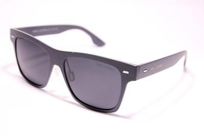 Очки солнечные поляризационные в сером матовом пластике, серые стёкла, унисекс