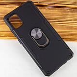 Ударопрочный чехол SG Ring Color магнитный держатель для Samsung Galaxy A51, фото 2