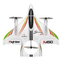 Радиоуправляемый самолет WLtoys X450 2.4G 6CH 3D   6G RC - X450