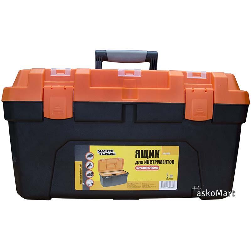 """Ящик для инструмента 22,5"""" (572*300*295 мм), усиленный Mastertool (79-6028)"""
