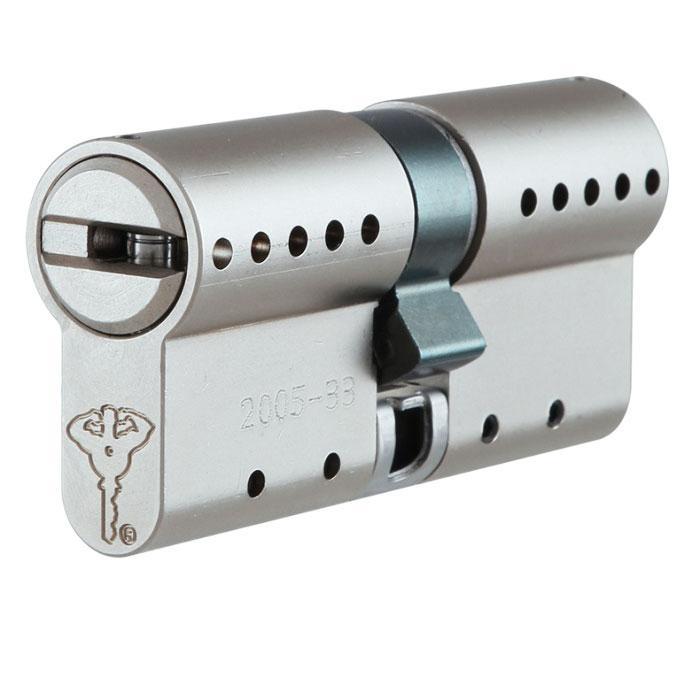Циліндр Mul-T-Lock INTERACTIVE 125 мм 50/75 Сатин