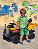 Электромобиль детский Самосвал Bambi M 4308EBLR-6   Откидной кузов, пульт 2.4G, 2 мотора 25W, колеса EVA, MP3