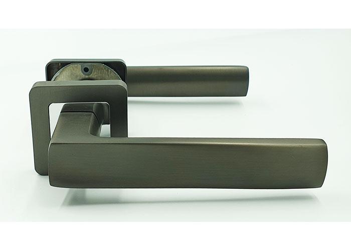 Ручка на квадратной розетке TRION LIBERA AL-AL  MBN/CP